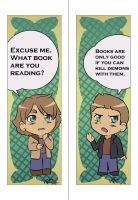 SPN Bookmarks 01 by LauraDoodles