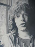 Jagger close-up by HshiminskyII