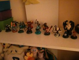 My Collection of Skylanders by WhiteOrchid14