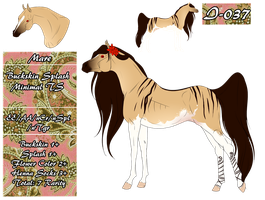 MT Horse I-037 for cresson101 by 11IceDragon11