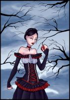 Snow White - Greeting card by Val-eithel