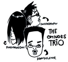 the OH NOES TRIO, reprise by scrotumnose