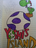 Yoshi's Island by Theet-Wolf