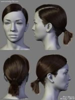 2012 Hairstyles 02 by Woodys3d