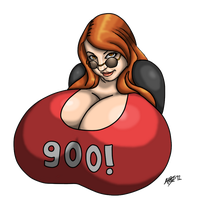 900 WATCHERS! by LordAltros