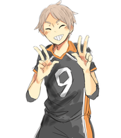 Sugawara by rukoshi