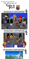T.C.O.O. Battle Concepts. by Mongoosquilax