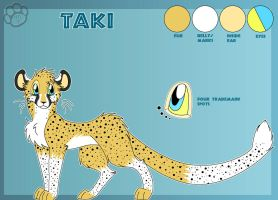 Taki the Cheetah - Reference by Marcella-Youko