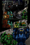 Csirac: Transwarp Page 5 - colours by LisaSky-Art