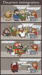 Dwarven Immigration by Xuupi