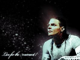 Jeff Hardy Live for the moment by DarkLyon