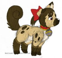 Foo Dog Reimu by Inkblot-Rabbit