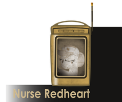 my little bioshock - nurse redheart message icon by MetaDragonArt