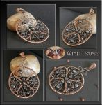 Wind rose- pendant by mea00