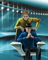 Star Trek.Captain's chair by jen-and-kris