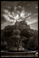 edinburgh castle by emohoc