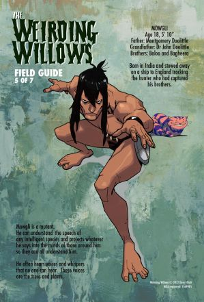 WEIRDING WILLOWS - MOWGLI (Little Frog) by DeevElliott
