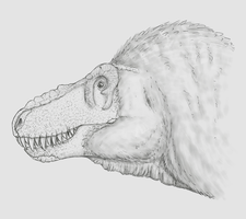 Smile for the illustrator, Rexy by DrawingDinosaurs