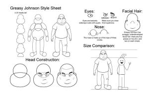 Greasy Johnson: Style Sheet by Shuya