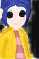Coraline's Doll by MiddySpectrum