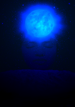 Once in a blue moon by Amalockh1