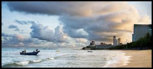 Thailand Pattaya panorama by Aledgan