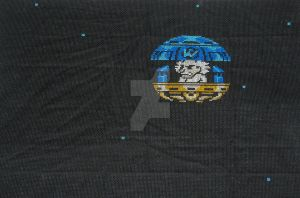 Dr Wily by GamingBitCrossStitch