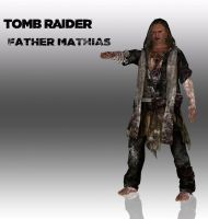 TOMB RAIDER Father Mathias by doppelstuff