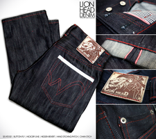 LION HEAD DENIM by kopianget