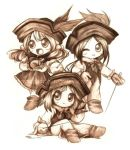 3 Chibi Musketeers by shortpinay
