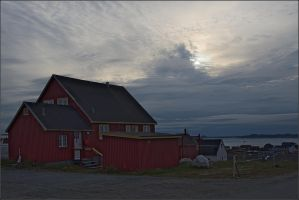 Eveninng in Nuuk by NikolaiMalykh
