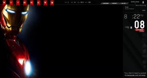 Iron Man V1.3 Rainmeter by doolally66