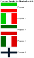 Proposed Rhineland Flags by lamnay