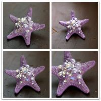 Petite Lavender Sparkle Star by TheRealLittleMermaid