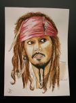 Captain Jack Sparrow by Therealjazzbertie