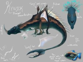Kenjok Dragon Contest Entry by Drufhix