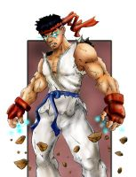 Ryu... first attempt... by dreno360