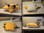 Ampharos Pillow Pet by SunsetSovereign