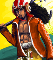 God Usopp by CodeNameZimbabwe