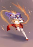 Sailor Mars - Burning Mandala by beside-XIV
