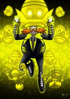 Sinestro Corps Dr Eggman by Berty-J-A