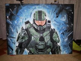 Master Chief by orcsan