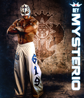 Rey Mysterio grunge poster by Photopops