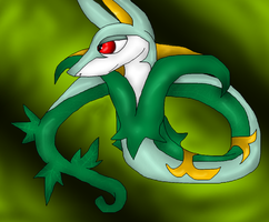 Serperior by PlagueDogs123