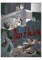 Diary_Of_The_Living_cover by TOMATOZOMBIE