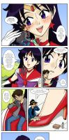Sailor Mars and Mikey's 2nd Anniversary by ArthurT2013