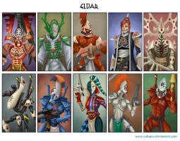 Race Eldar by YuliaPW