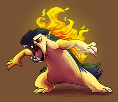 Typhlosion by MadMeeper