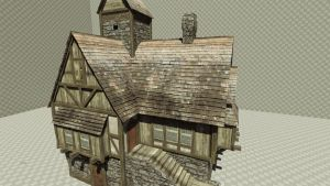 Medieval - Fantasy House by iniside