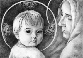 The Child and His Mother by GloriaDei